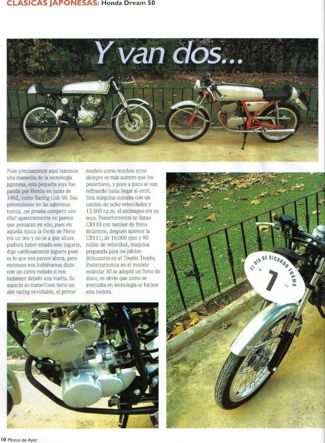 Honda Dream 50 R Honda410