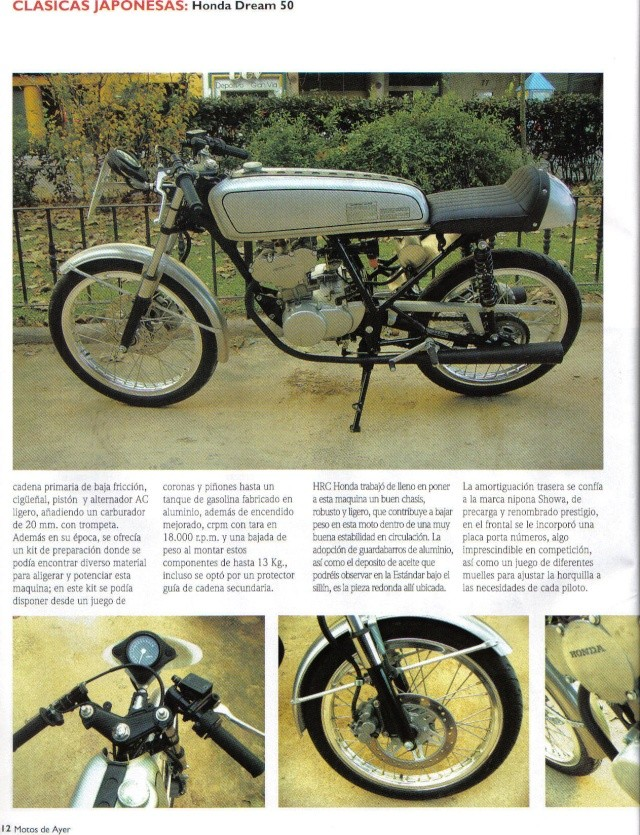 Honda Dream 50 R Honda610