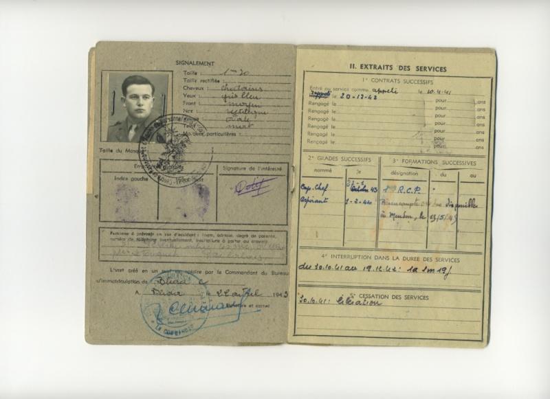 PETIT Victor - brevet n°893 à FEZ (Maroc) Représenté par son fils Denis Livret11