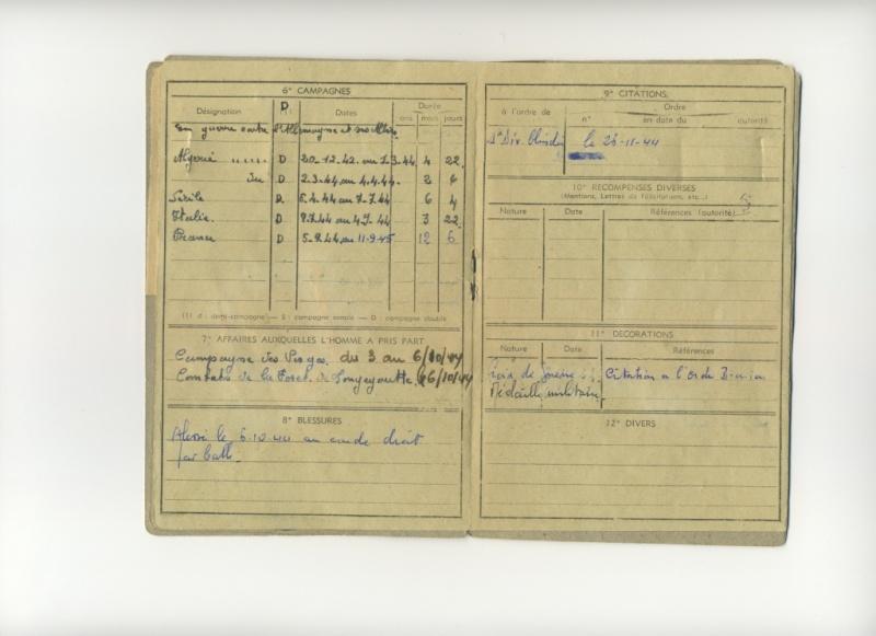 PETIT Victor - brevet n°893 à FEZ (Maroc) Représenté par son fils Denis Livret12
