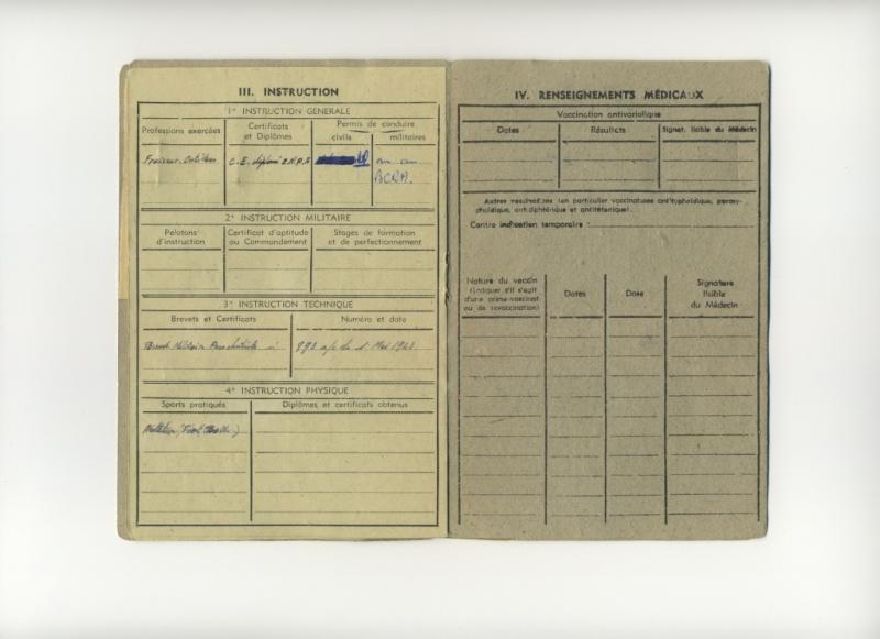 PETIT Victor - brevet n°893 à FEZ (Maroc) Représenté par son fils Denis Livret13
