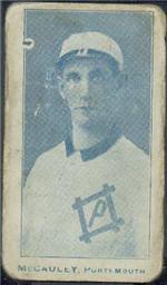 e222 AWH Caramels, Virginia League. 1910 Mccaul10