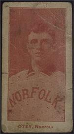 e222 AWH Caramels, Virginia League. 1910 Oteyrd10