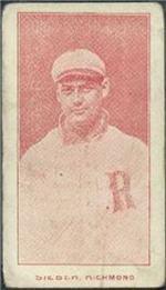 e222 AWH Caramels, Virginia League. 1910 Sieber10