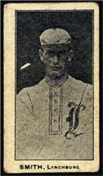 e222 AWH Caramels, Virginia League. 1910 Smithb11
