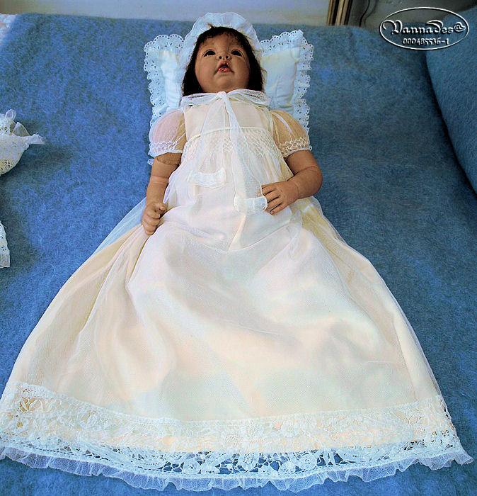 Robe de Baptême de mes Reborns 113