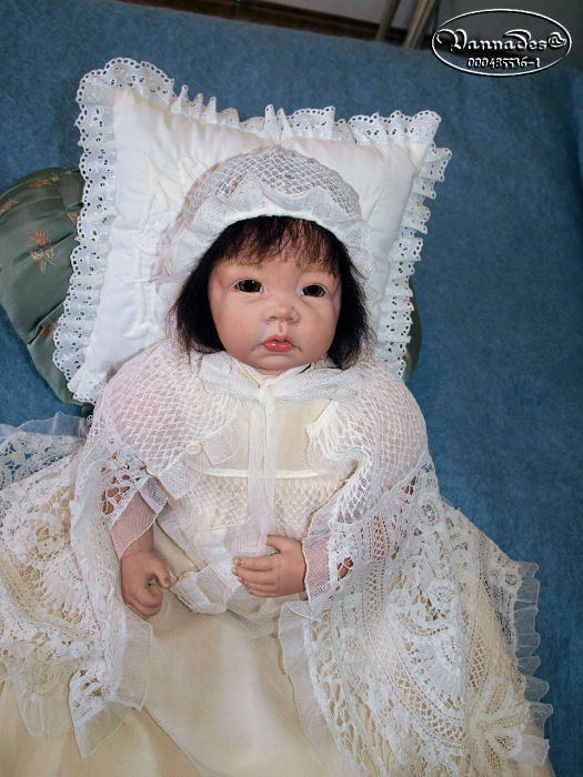 Robe de Baptême de mes Reborns 213