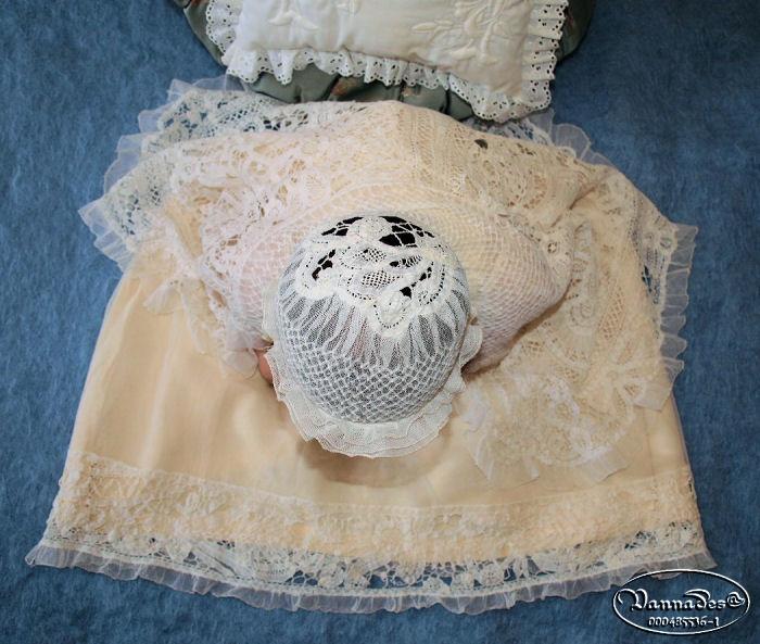 Robe de Baptême de mes Reborns 313