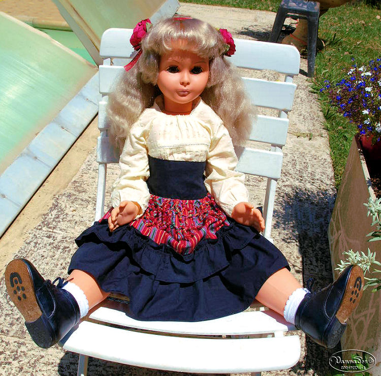 "Ma Bella "" Héléna "" de 85 cm Poupae16"