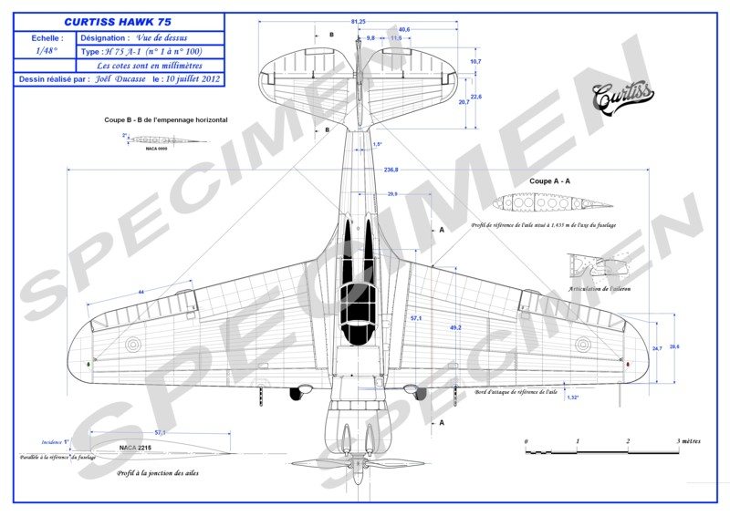 Curtiss H-75 Plan_912