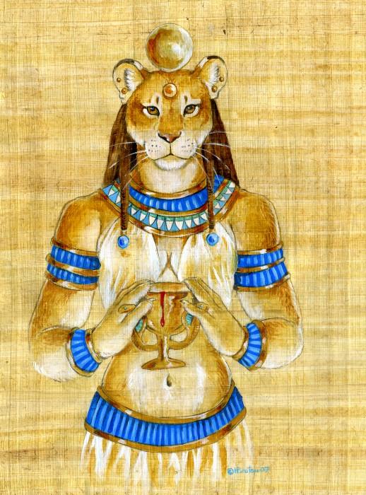 Sekhmet Papyru10