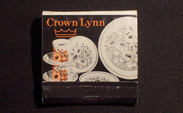 Crown Lynn matchbook 00410