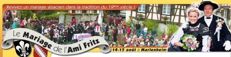 37ème édition du Mariage de l'Ami Fritz le 14 et 15 août 2009 à Marlenheim Bandea11