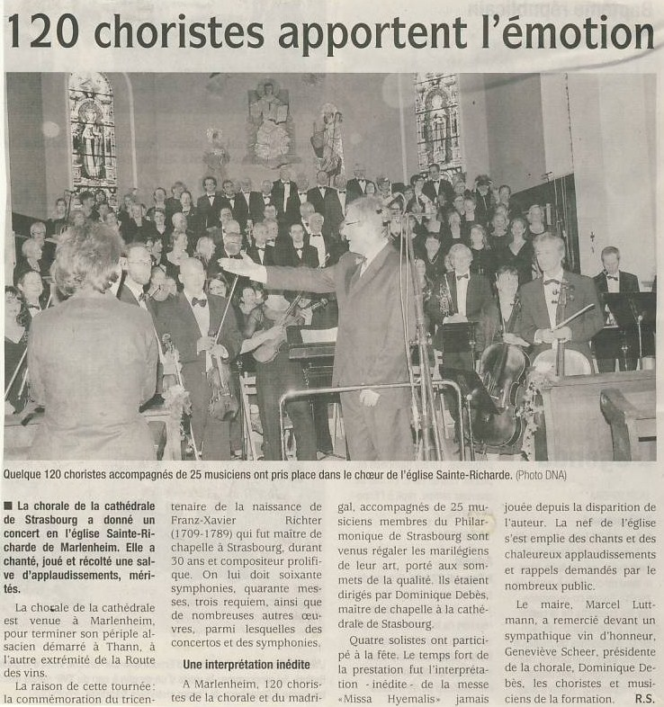 Les musiciens de la Cathédrale de Strasbourg à Marlenheim Image011