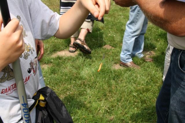 Pêche pour les enfants avec l'AAPPMA le 27 juin 2009 Img_2522