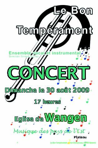 """""""Le Bon Tempérament"""" en concert à Wangen le 30 août 2009 Wangen10"""