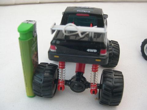 Scale 1/24 Super Slicks Monster Truck SSMT Bronco 3110