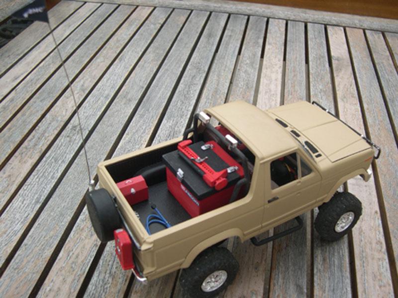 Scale 1/24 Super Slicks Monster Truck SSMT Bronco 95110