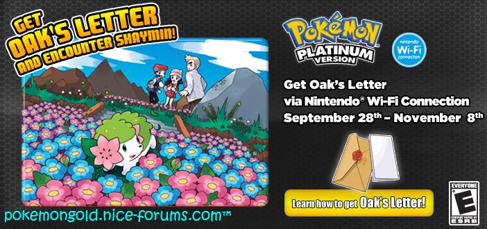 Pick up Oak's Letter! Pokemo10