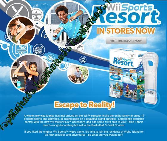 Wii Sports Resort Wii210