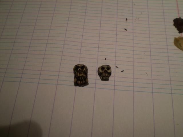 Tuto : Des crânes pour le Seigneur des Crânes 02 P4010121