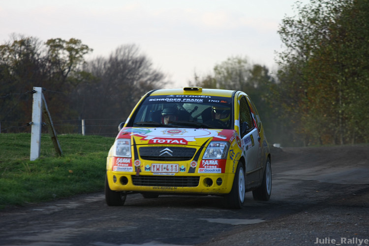 [Rallye du Condroz] retour photos , vidéos Samedi13