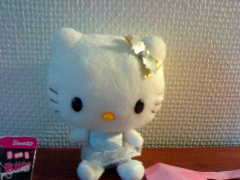 Hello kitty des peluches et des objets d 39 hello kitty - Hello kitty et mimi ...