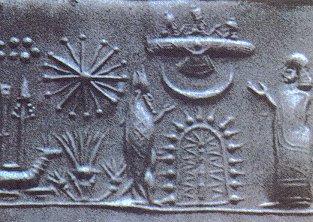 Représentations préhistoriques supposés d'aliens et d'OVNI Annuna10