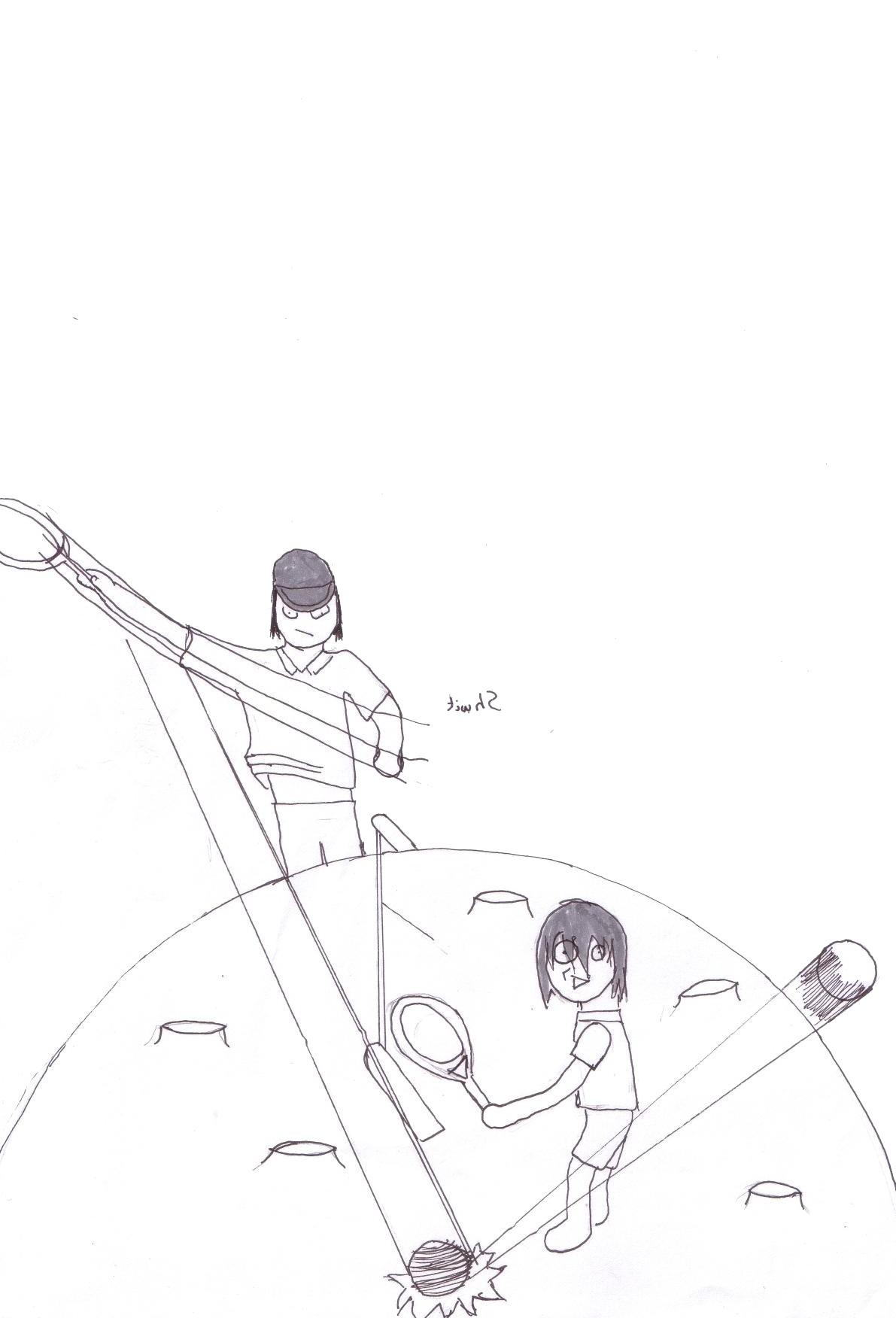Sakura-chan's draw =D This_i11