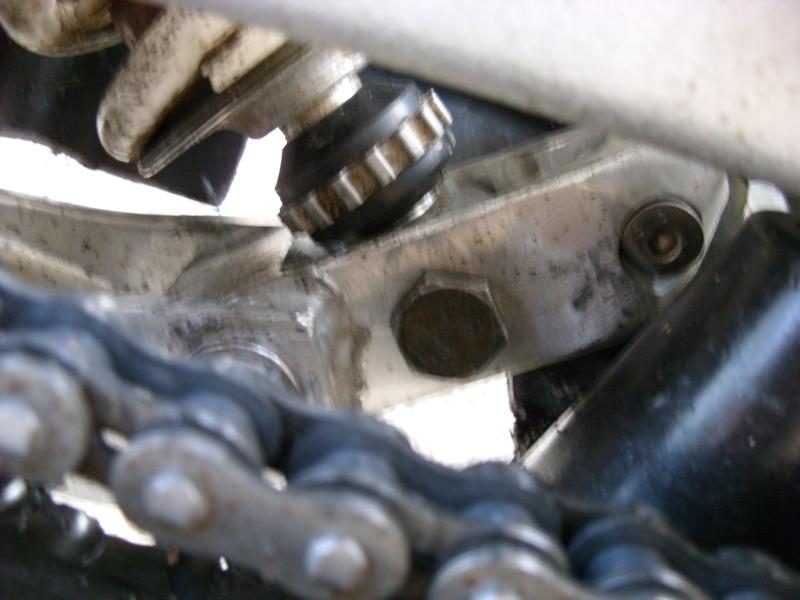 bras oscillant 450 - installation Bras oscillant  450r trx Sn850922