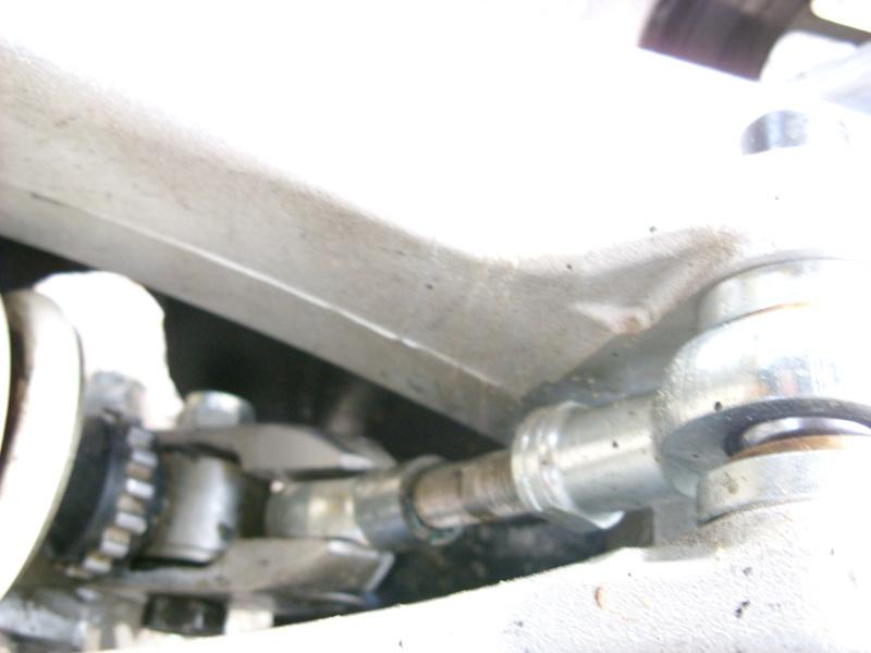 bras oscillant 450 - installation Bras oscillant  450r trx Sn850923