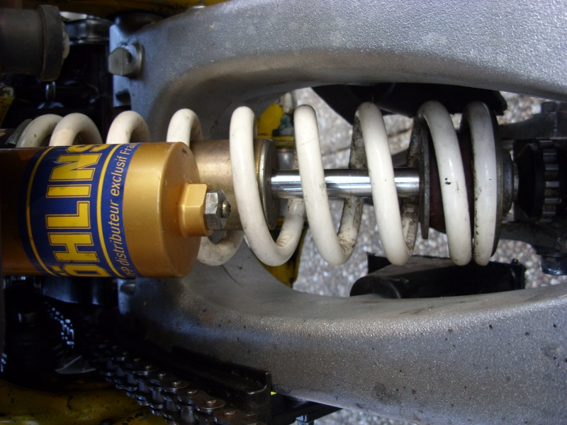installation Bras oscillant  450r trx Sn850924
