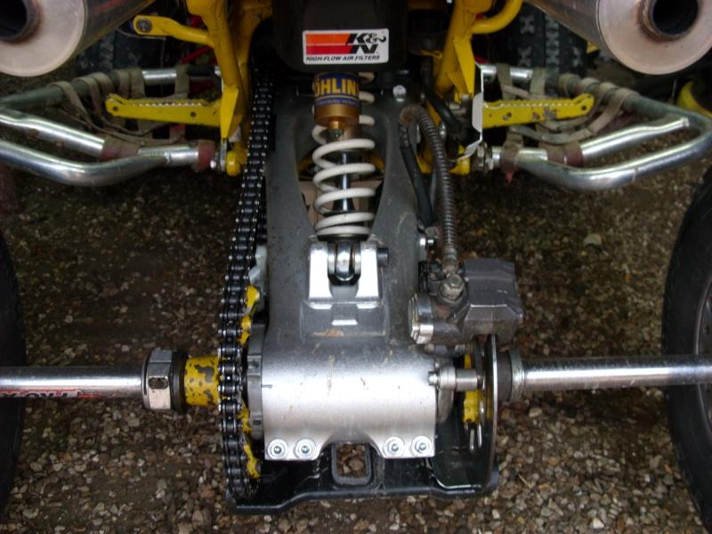 installation Bras oscillant  450r trx Sn850930
