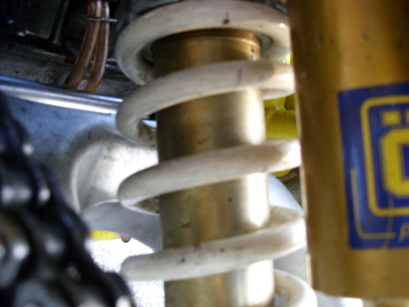 installation Bras oscillant  450r trx Sn850933