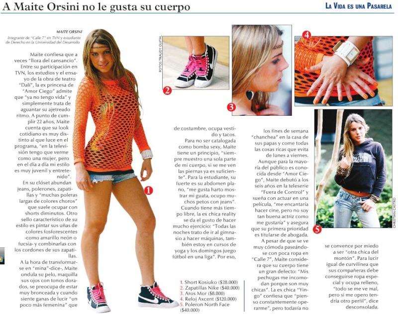"""""""A Maite no le gusta su cuerpo"""" - Revista Reportaje LUN Maite_10"""