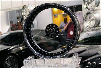 Стеклянные колеса 110
