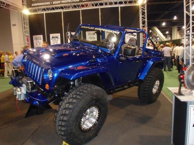Mopar Jeep на SEMA 2009 1111