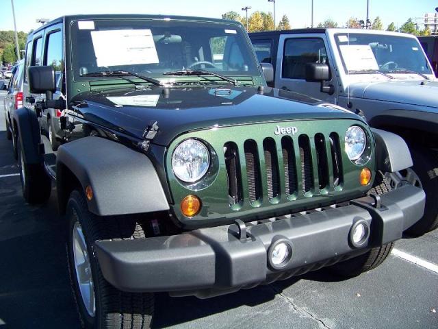 Новые цвета Jeep 115