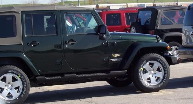 Новые цвета Jeep 315