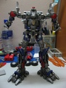 MY VERSION 2 REPAINT N MODIFICATION ROTF OPTIMUS PRIME...WIP Img_1351