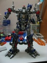 MY VERSION 2 REPAINT N MODIFICATION ROTF OPTIMUS PRIME...WIP Img_1356