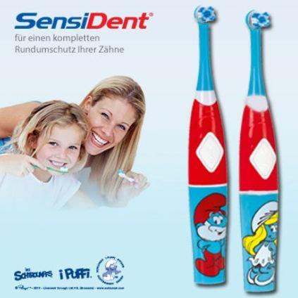 [sensident] brosses à dents électriques schtroumpfs  (allemagne) Brosse10
