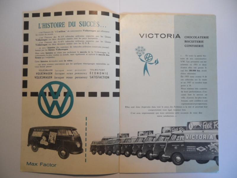 """Dépliant Belge """"L'histoire du succés VW"""". Sam_1611"""