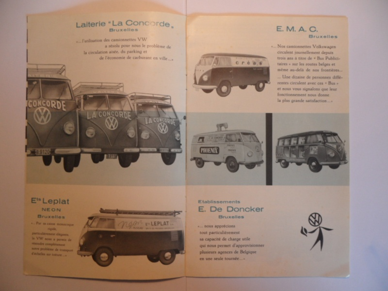 """Dépliant Belge """"L'histoire du succés VW"""". Sam_1612"""