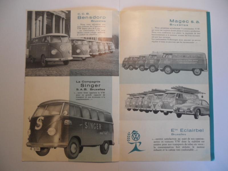 """Dépliant Belge """"L'histoire du succés VW"""". Sam_1615"""