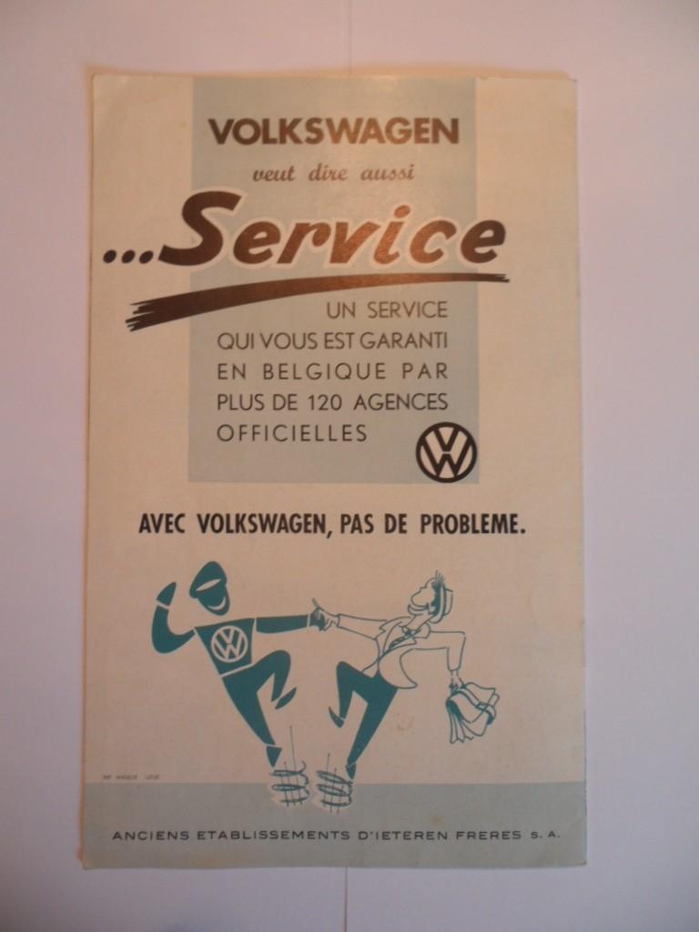 """Dépliant Belge """"L'histoire du succés VW"""". Sam_1616"""