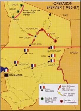 Opération Limousin au TCHAD de 1969 à 1975,est la Première Opération Extérieure de la FRANCE au TCHAD après la Guerre d'ALGERIE, et non pas l'Opération Tacaud.Et qu'on se le dise,Monsieur Yves CADIOU. Epervi10