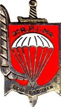 Les NOMS des Chefs de Corps du 3ème RPIMa de CARCASSONNE dans le département de l'AUDE n° 11,et l'Historique du Régiment . Pc220219