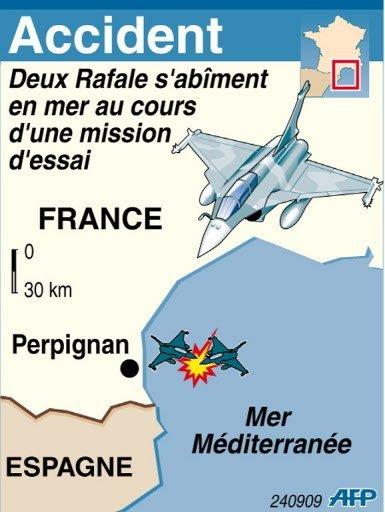 Enquête après le crash de Rafale, un avion que la France tente d'exporter ( Sources A.F.P ) Photo_21