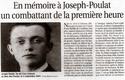 Libération des villes et des villages de la France à partir de 1944 Joseph10